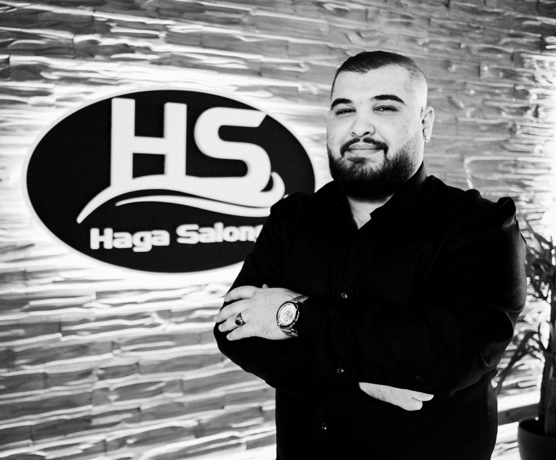 Mohammed på Haga Salong